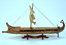 "BIREME Ancient Ship 32"" - Handcrafted Wooden Ship Model"