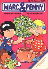 Comic MARC & PENNY. Nr. 10 von 1989; Werbecomic der Raiffeisenbank