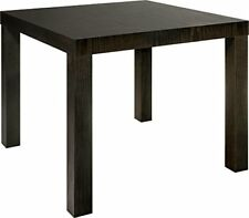 NEW DHP Parsons Modern End Table Multi use and Toolless Assembly Dark Espresso