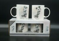 DISNEY Set Disney Mickey & Minnie Maus Mouse Tassen Tasse Micky Mr Mrs Hochzeit