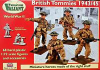 British Tommies 1943/1945 68 figurini - Valiant Miniatures Kits 1:72