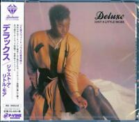 DELUXE-JUST A LITTLE MORE-JAPAN CD F30