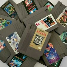 NES Nintendo Games ~ Authentic Cleaned & Tested ~ Great Variety ~ See Photos