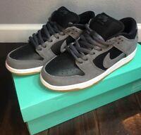 Nike SB Dunk Low TRD Youth Boy Dark Grey/Black SIZE 6, FITS WOMEN'S 7.5 BNIB