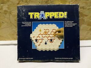 """Vintage """"TRAPPED"""" by Peterpan Games 1989"""