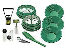 11 pc Prospecting-Mining-Pannin g Kit- 2- Classifiers 3 Gold Pans+ More!
