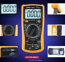VICTOR VC890C+ Display Multi-Tester Digital Multimeter AC/DC Volt Ohm Ammeter