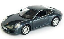Porsche 911 Carrera S Car 1:32 Scale Alloy Diecast Car Model Metallic Blue NEW