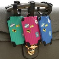 1PC Plastic PVC Luggage Tag Suitcase Bag Tag ID Name Address Phone Card W
