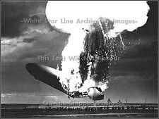 Photo: Hindenburg Disaster: Rare View Of Catastrophe, Lakehurst, 1937