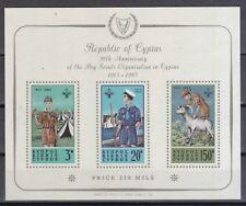 Zypern 1963 postfrisch MiNr. Block 1   50 Jahre Pfadfinderbewegung auf Zypern