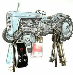 TE20 Fergi Tractor Key Rack or Lead Hanger Made in UK Ideal Farming Gift