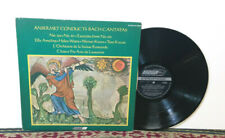 Bach - Cantatas No 130, No 67, Excerpts From No 101, Ansermet, LP 1970 - NM