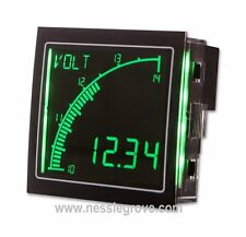 Trumeter APM-VOLT-ANN 72 x 72 Voltmeter Negative LCD