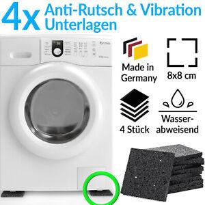 Waschmaschinen Unterlage Gummimatte Rutsch Schwingungsdämpfer Vibrationsdämpfer