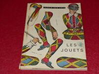 [ART DECORATIFS] REVUE JARDIN DES ARTS # 74 LES JOUETS DEC/JANVIER 1960/61