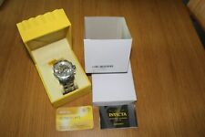 Invicta pro diver 0071 chronograph all stainless steel watch
