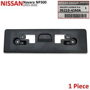 For Nissan Navara NP300 D23 2WD 4WD 2015 20 Front Lisence Plastic Bumper