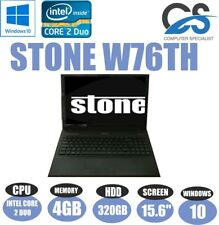 "Windows 10 STONE W76TH 15.6 "" PORTATILE INTEL CORE 2 DUO 4GB DDR2 320GB HDD"
