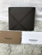 Burberry London Check Bifold Mens Wallet
