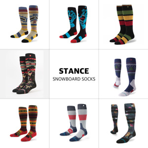 3 Pack Stance Snowboard Ski All Mountain Wool Poly Over the Calf socks S/M L/XL