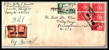 GP GOLDPATH: PHILIPPINES COVER 1965 REGISTERED LETTER AIR MAIL _CV685_P07