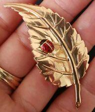 Broche ancienne émaillé scarabée en or massif, art nouveau?