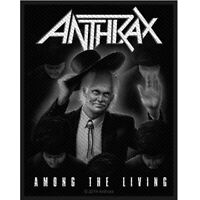 Anthrax Among The Living Patch Official Thrash Metal Band Merch New