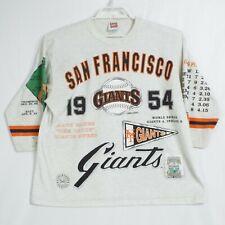 1954 San Francisco Giants World Series Season Vintage Shirt Mens XL