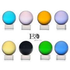 Set 8 Asian Rare Natural Quartz Magic Crystal Healing Ball Sphere 40mm+Stand
