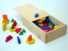 Seletti Design, giochi di legno per bambini , The shape puzzles for kids