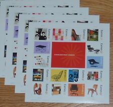 Four (4) Sheets x 16 = 64 CHARLES + RAY EAMES 42¢ US PS Postage Stamps Sc # 4333