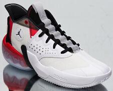 Jordan React Elevation Men's White Black University Red Basketball Sneakers Shoe