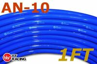 """AN-10 5/8"""" 16mm Push On Loc Lock Fuel Hose for Lubricants, Oils - 1FT (Blue)"""
