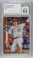 2020 Topps Update All-Star Gold /2020 Mike Trout #U-4 CSG 9.5 Gem Mint (PSA,BGS)