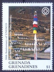 Grenada Gr. 1997 MNH, UNESCO, Sagarmatha National Park, Nepal