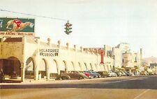 Tijuana Mexico Main Street Los Portales Curios Vintage Postcard (J31999)