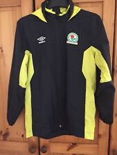 Blackburn Rovers training track top jacket for Boys Size Large Umbro