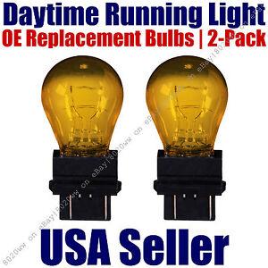 Daytime Running Light Bulbs 2pk OE Replacement On Chevy/Chevrolet - 4157NAK