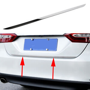 Tailgate Molding For Toyota Camry 18-20 Steel Rear Door Trunk Stripe Cover Trim