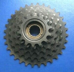 NEW OLD STOCK VINTAGE TIGER 6 SPEED FREEWHEEL,14-32 TEETH,IDEAL FOR L'EROICA