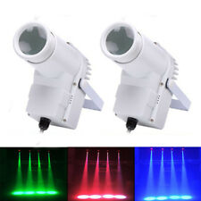 2PCS 30W RGBW Pin Spot Beam LED Stage Lighting DMX DJ Disco Party Light