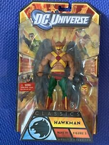 HAWKMAN Action Figure DC UNIVERSE WAVE 19 STRIPE BAF SERIES FIGURE 5 JSA