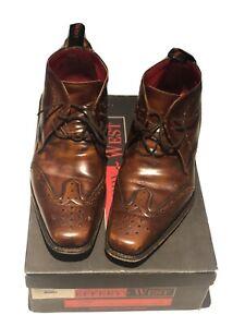 Mens Jeffery West Boots Size 9