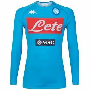 Kappa Skin T-Shirts & Top Uomo KOMBAT NIRICH 4 NAPOLI Calcio sport CNA T-Shirt