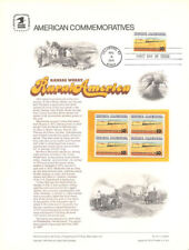 #37 10c Winter Wheat - Rural #1506  USPS Commemorative Stamp Panel w/FDC