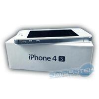 IPHONE DE APPLE 4S 8GB COMO NUEVO BLANCO CON CAJA ORIGINAL, ACCESORIOS, GARANTÍA