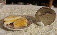 1:12 Dollhouse miniature grilled cheese sandwich