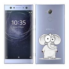Soft TPU Silicone Case For Sony Xperia XA2 Ultra Phone Back Cover Skins Clear