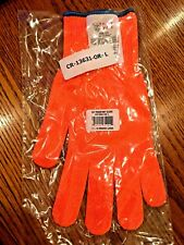 MAXX WEAR CUT RESISTANT ORANGE GLOVE- CR-13 Spectra Guard LARGE CR-13631-OR-L